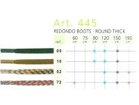 Art.445 Круглый толстый шнурок 150 см