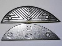 Набойки (косячки/подковки) металлические LULU