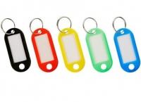 Бирка для ключей пластиковая