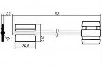 Заготовка ключа БОРДЕР-10 | BRD10DP