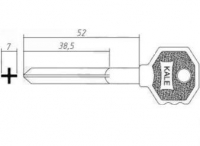 Заготовка ключа KALE | FAYN4 | E-369